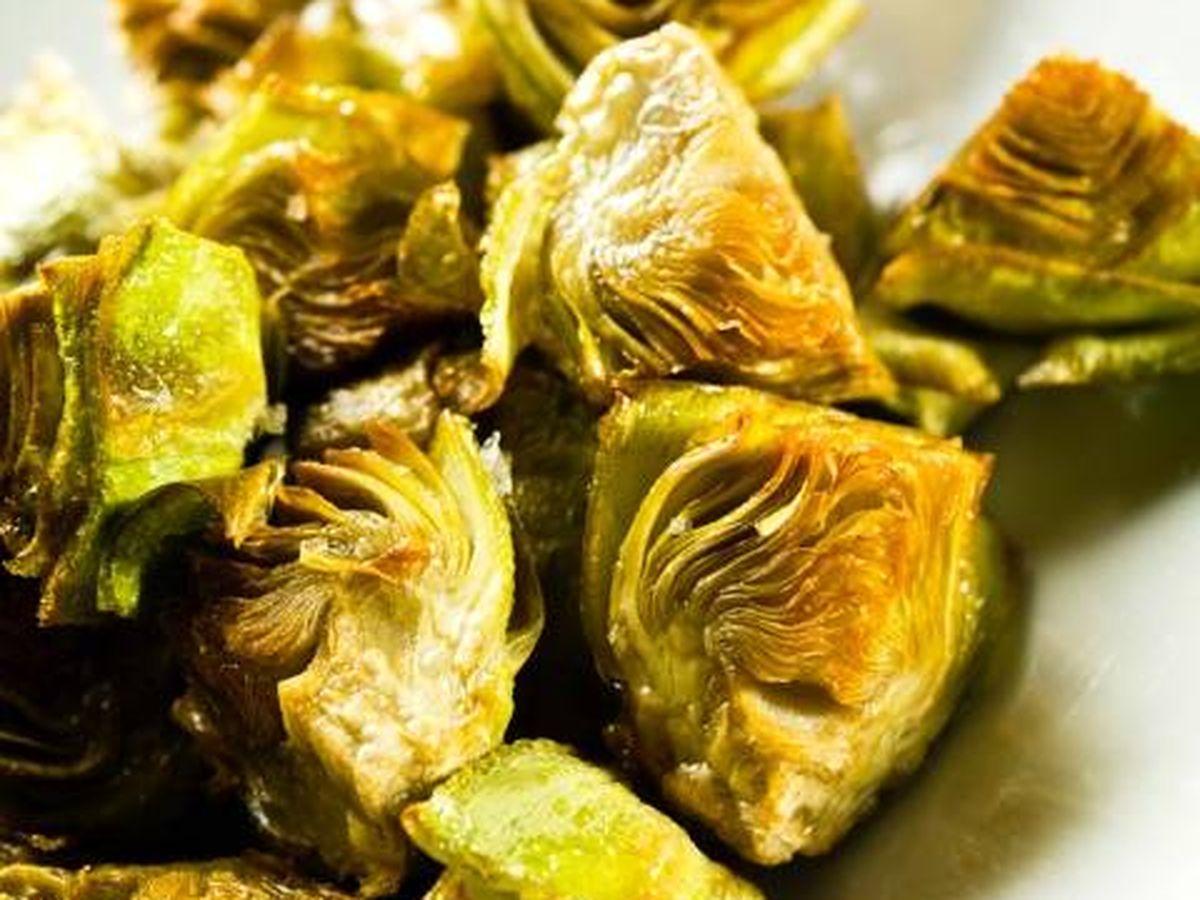 Foto: Alcachofas fritas de La Manduca de Azagra.