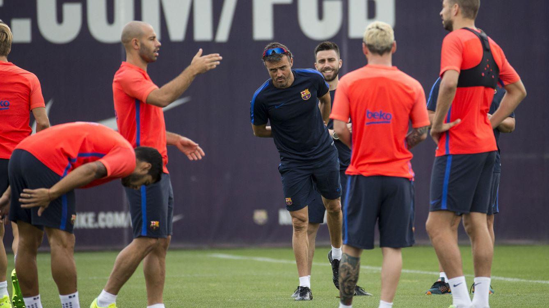 Luis Enrique asegura que habrá entradas y salidas en el Barcelona