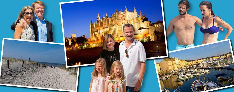 Foto: Saint-Tropez, Grecia o Palma de Mallorca suelen ser los destinos favoritos de la realeza (Vanitatis)