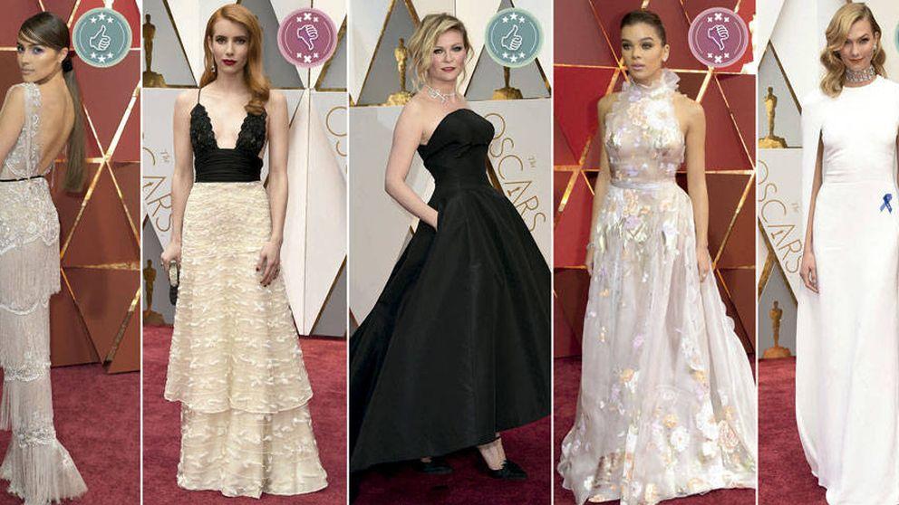 Las mejor y peor vestidas de los Premios Oscar 2017: de Emma Stone a Dakota Johnson