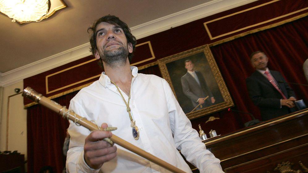 Foto: Jorge Suárez, de la plataforma ciudadana Ferrol en Común donde se integran IU, Anova e inscritos de Podemos, alcalde de Ferrol. (Efe)