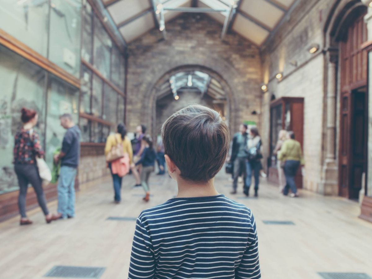 Foto: Niños y museos, no es tan difícil. (Cortesía)