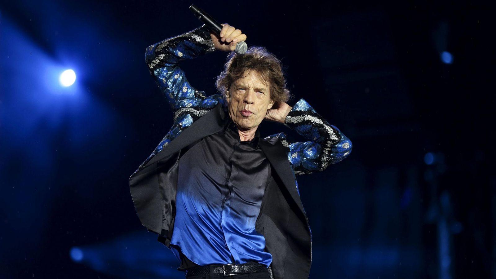 Foto: Mick Jgger durante un concierto de los Rolling Stones. (Reuters)