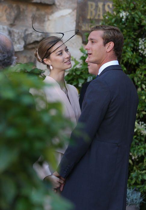 Foto: Pierre Casiraghi y Beatrice Borromeo en la boda de Félix de Luxemburgo en septiembre de 2013 (Gtres)