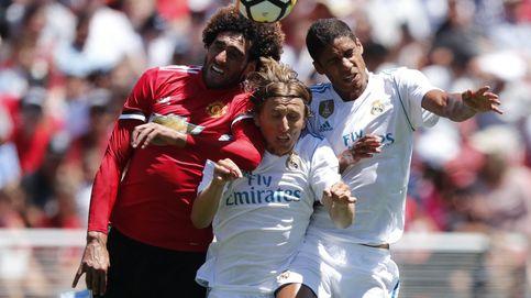 Los canteranos del Real Madrid son los enchufados de Zidane ante el United (1-1)