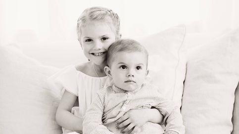 ¡Qué tiernos! Así celebran la llegada del verano Estelle y Oscar de Suecia