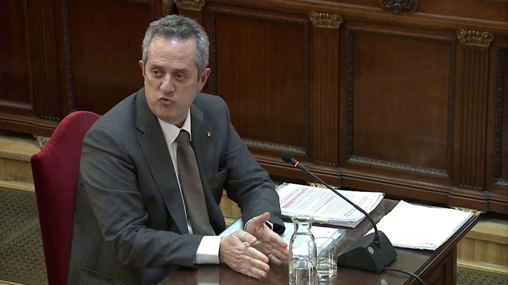 Foto: El exconseller de Interior del Govern catalán Joaquim Forn. (EFE)