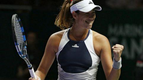 ¿Cuál es el límite de Garbiñe? De tercera de la WTA a soñar con ser una 'maestra'
