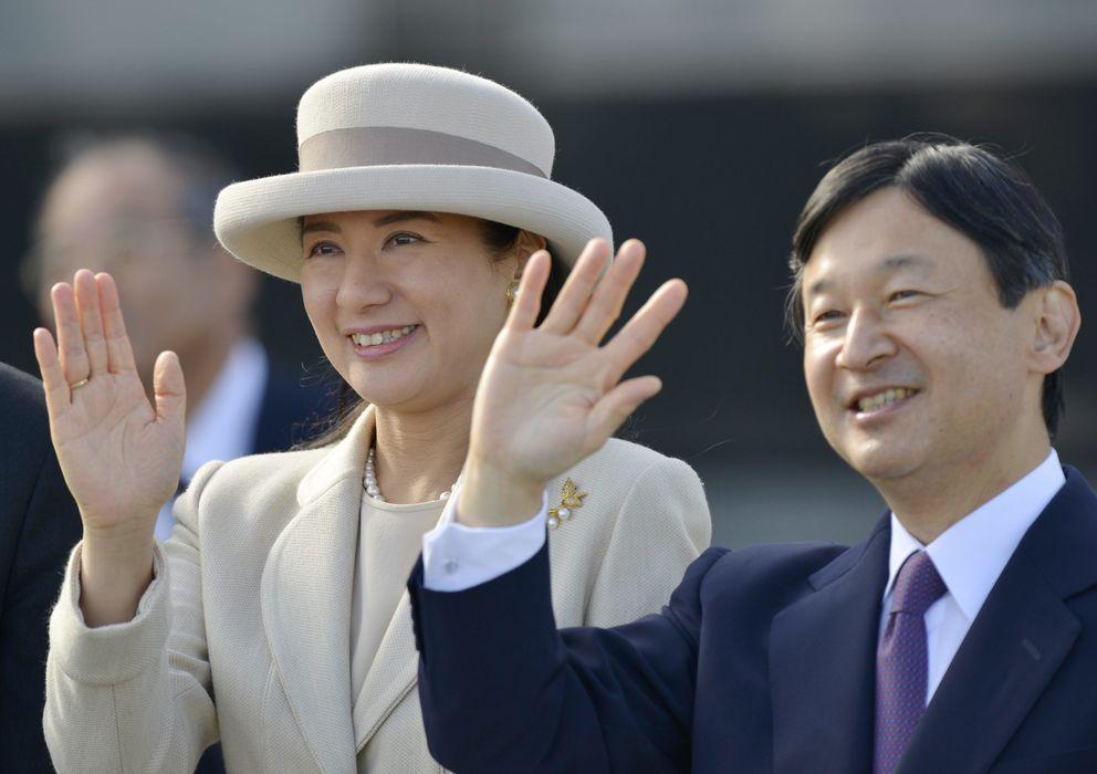 Foto: El príncipe Naruhito y su mujer, la Princesa Masako