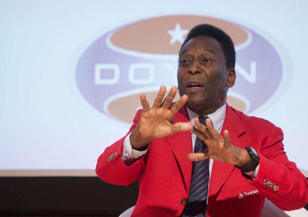 Foto: El estado de salud de Pelé mejora con el paso de los días.