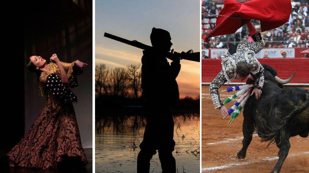 Caza, toros, flamenco y Semana Santa: los tópicos que Vox quiere proteger en Andalucía