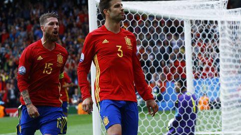 En Toulouse nadie pitó a Piqué, ya era hora de que le dejaran jugar en paz