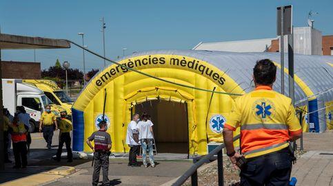 La Generalitat desarbola los servicios de emergencia de Barcelona en plena pandemia