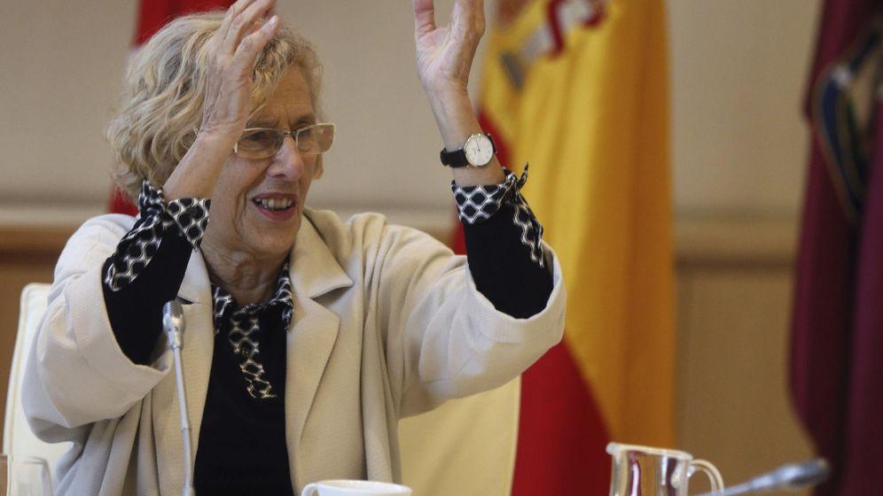 Foto: Manuela Carmena, alcaldesa de Madrid