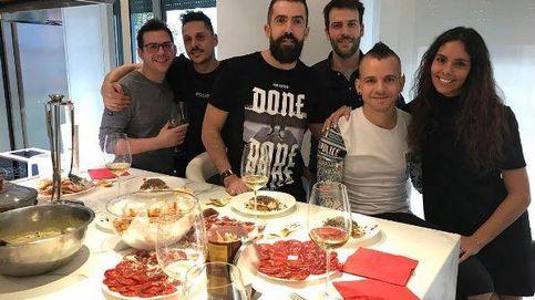 Cristina Pedroche y David Muñoz organizan una comida entre amigos para estrenar cocina
