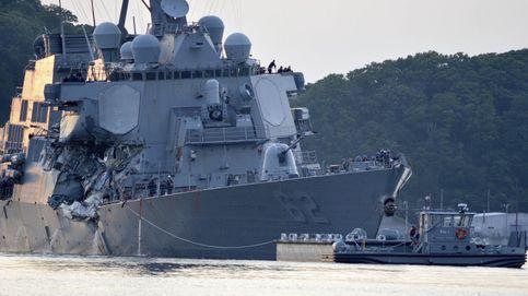 Cómo y por qué chocan entre ellos los buques de la armada de EEUU