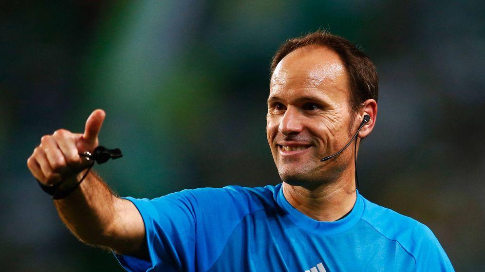Foto: Mateu Lahoz, árbitro. (Getty)