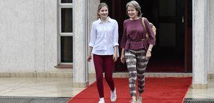 Post de Elisabeth de Bélgica se hace mayor: primer viaje de cooperación junto a su madre