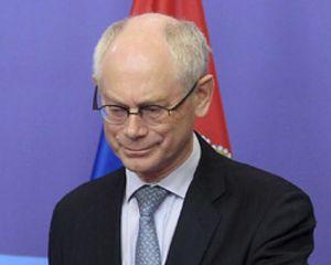 Van Rompuy avisa de que si se relajan objetivos de déficit los mercados harán subir las primas