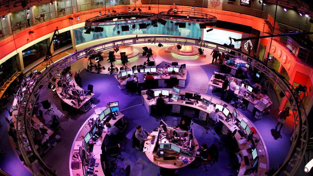 Foto: La sede central de Al Jazeera en Doha. (Reuters/Fadi Al-Assad)