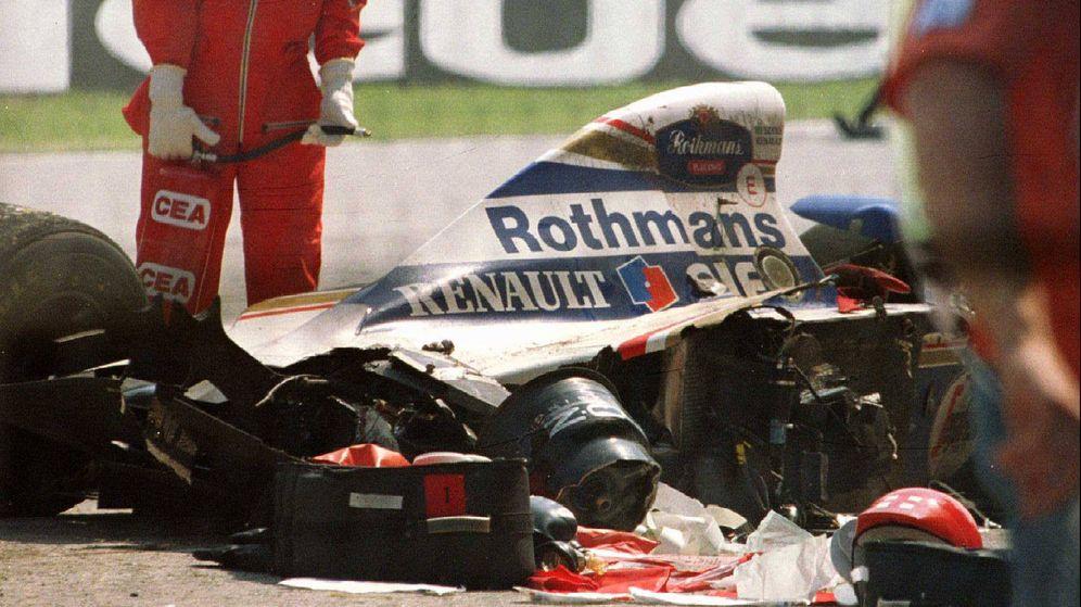 Foto: Ayrton Senna falleció el 1 de mayo de 1994 tras un accidente en el Circuito de Imola. (Reuters)