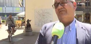 Post de Un ciclista atropella a un alcalde belga mientras está dando una entrevista