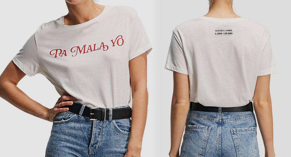 Foto: Camiseta de 'Lo malo' de Stradivarius. (Web de la marca)
