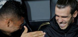 Post de La falta de interés de Bale en el banquillo del Real Madrid con el 'Bottle flip challenge'