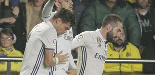 Post de La rebelión de Morata en el Real Madrid que aplaude Courtois en Londres
