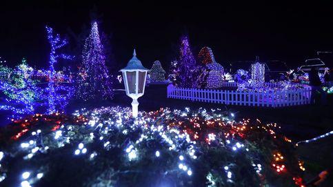 Luces navideñas en Croacia