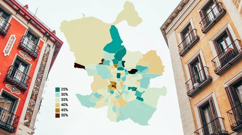 Barrios de Madrid: dime dónde vives y te diré cuánto sueldo destinas al alquiler