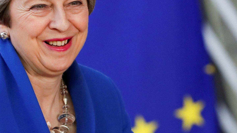 Exactamente del mismo color que la bandera europea. (Reuters)