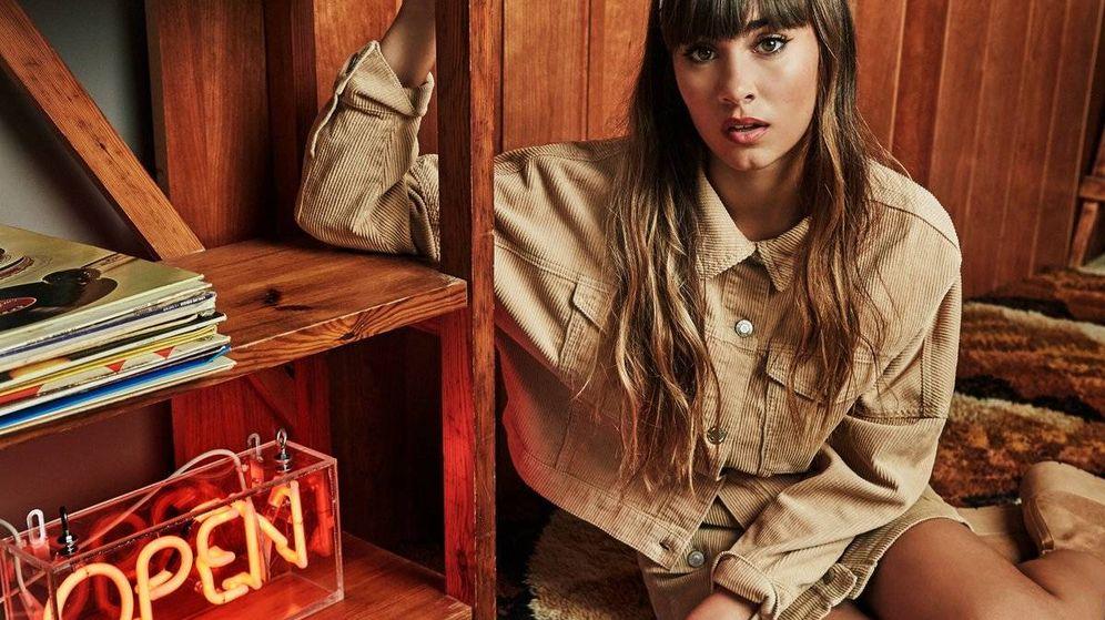 Foto: Aitana, en una imagen de la campaña de Stradivarius de invierno. (Cortesía de la marca)