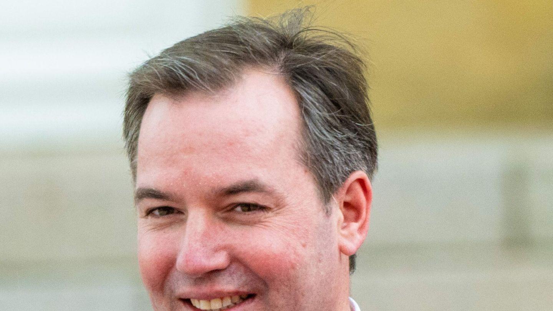 Inka Martí con su marido, el conde de Siruela. (Cordon Press)