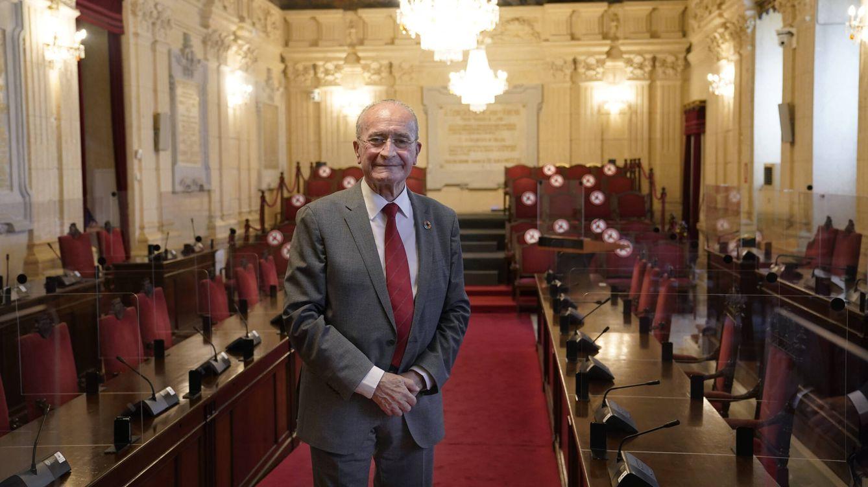 Foto: Entrevista a Francisco de la Torre Prados. (Germán Pozo)