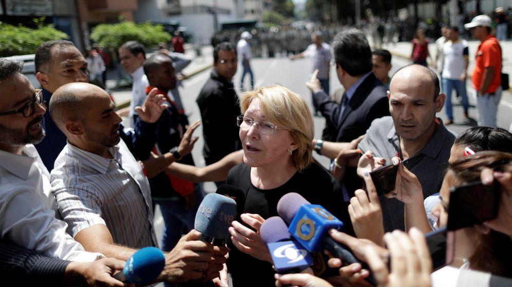 Foto: La fiscal general del Estado, Luisa Ortega Díaz, destituida. (Reuters)