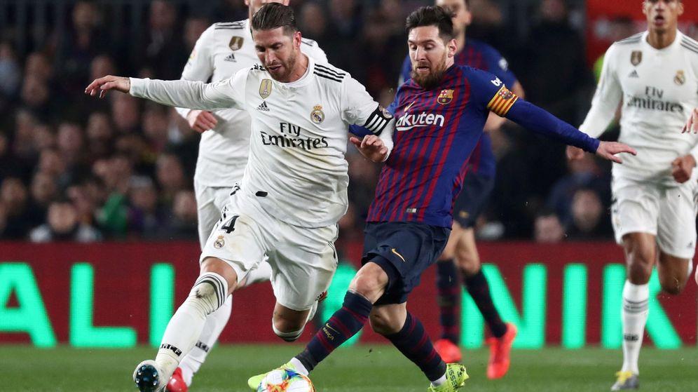 Foto: Este miércoles se juega el partido de vuelta del Real Madrid - Barcelona de Copa del Rey (Reuters)