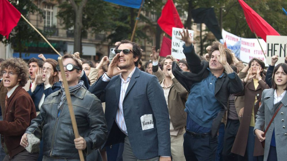 Foto: Louis Garrel es Godard en 'Mal Genio'. (Vértigo films)