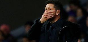 Post de La furia de un mosqueado Simeone en el Atlético de Madrid