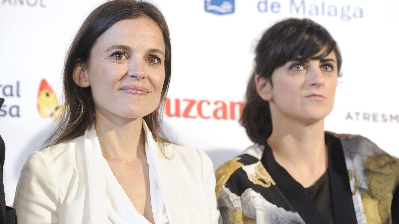 Elena Anaya y Bea Sanchís durante el pasado Festival de Málaga (Gtres)