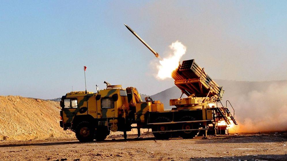 Foto: Lanzacohetes T-122 Sakarya (TAF)