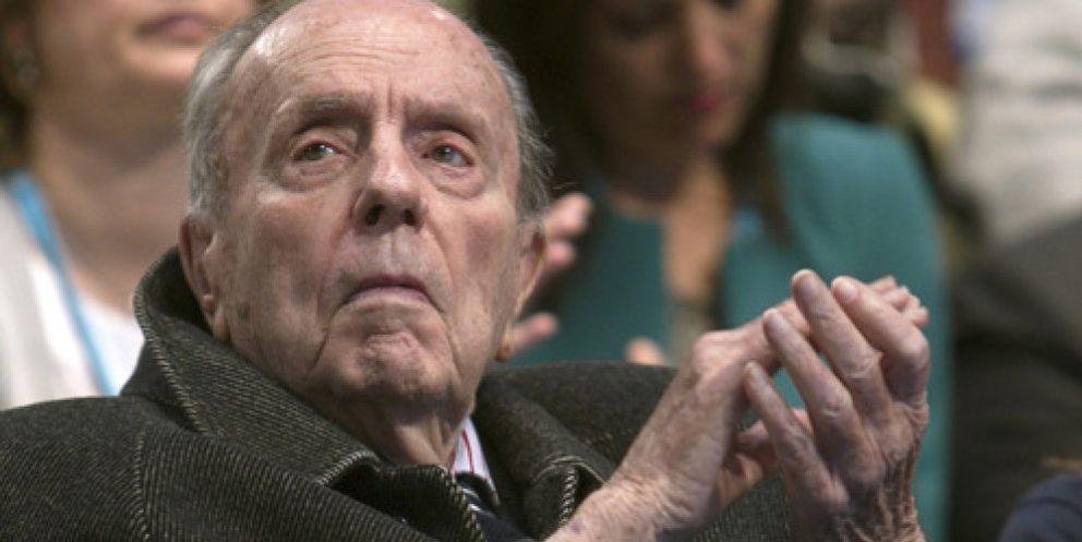 Foto: Manuel Fraga deja la política activa después de 60 años
