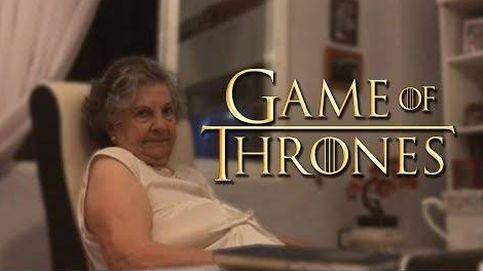 Las geniales reacciones de esta abuela al ver Juego de Tronos