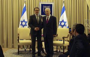Israel se lavó las manos en la 'guerra de banderas' entre Mas y Margallo