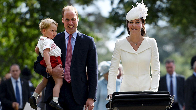Foto: El bautizo de la princesa Charlotte, en imágenes