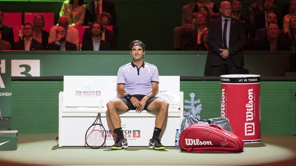 Foto: Federer no competirá en tierra esta temporada. (EFE)