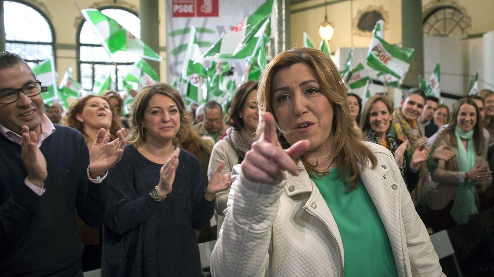 Foto: Susana Díaz, en un acto previo al Día de Andalucía. (EFE)