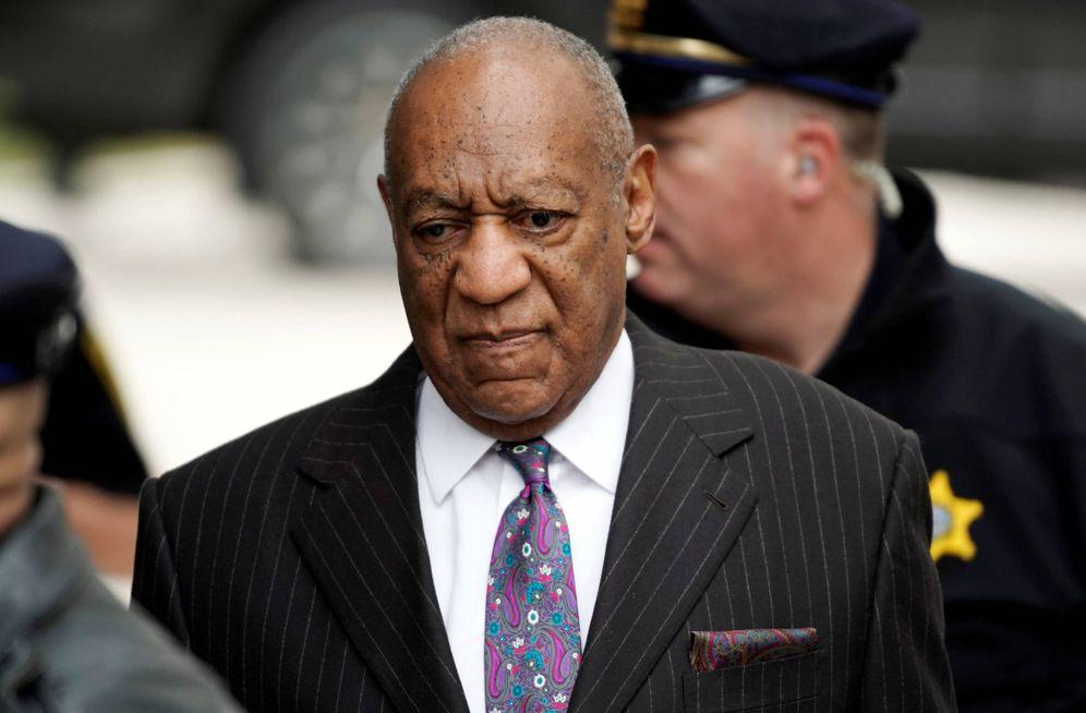Foto: Bill Cosby en una imagen del juicio celebrado en Pennsylvania. (Gtres)