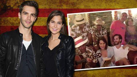 Marc Clotet y Natalia Sánchez, de cena con la cúpula presidencial catalana