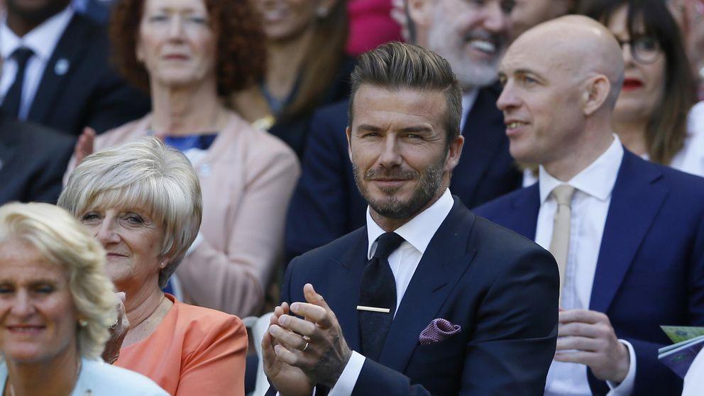 La vergüenza de David Beckham en un partido de Wimbledon